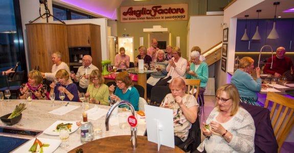 Anglia Factors cooking demo