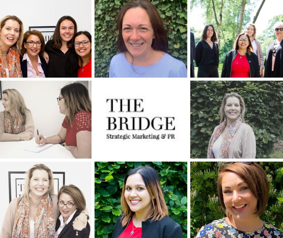Meet The Bridge Marketing team!!
